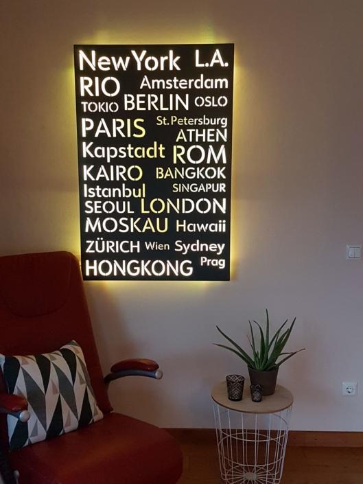 Moderne Wandleuchte für Wohnbereich von Lichtzeit